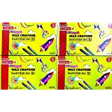Camel Smooth & Bright Colours 12 Shades Crayons - Pack of 10