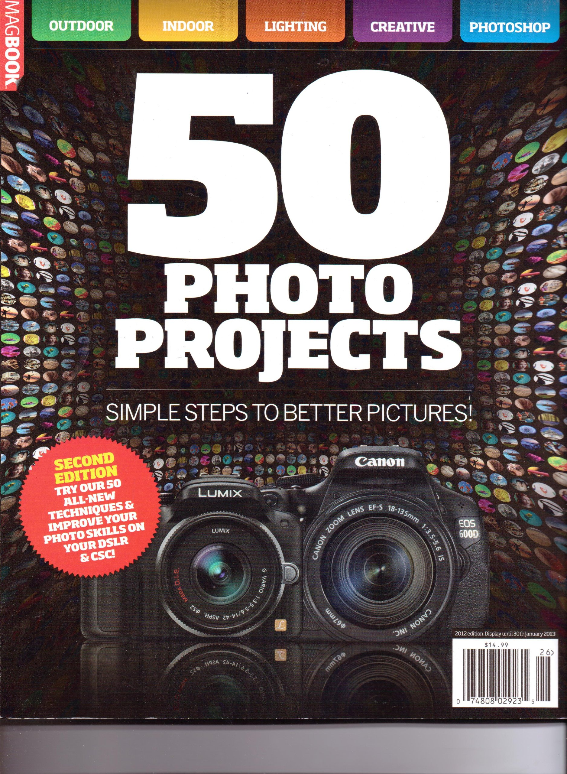 50 PHOTO PROJECTS MagBook. Simple Steps To Better Pictures. 2nd Edition 2012. ebook