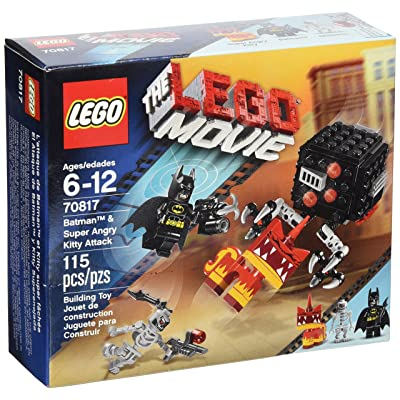 LEGO Movie Batman and Super Angry Kitty Attack Block: Toys & Games