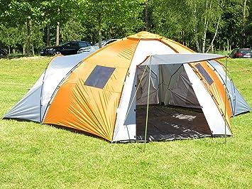 Montis HQ Nebraska Castle - Tienda campaña familiar 6 plazas - 640 x 500 cm, 14 kg: Amazon.es: Deportes y aire libre