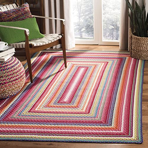 Safavieh Braided Collection Area Rug, 6 x 9 , Multi