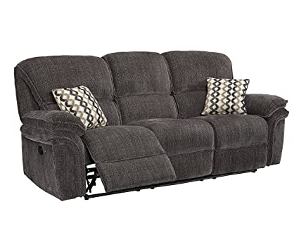 Fabulous Amazon Com Common Home Ch0089 Maisie Dual Reclining Sofa Andrewgaddart Wooden Chair Designs For Living Room Andrewgaddartcom