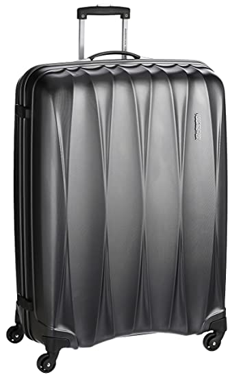 c069a04a11d2 American Tourister Polycarbonate 68 cms Gun Metal Hardsided Suitcase (38W  (0) 58 002