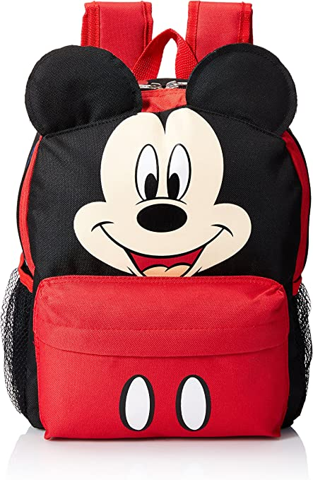 """Disney Minnie Mouse Happy Face 12/"""" Toddler Backpack"""