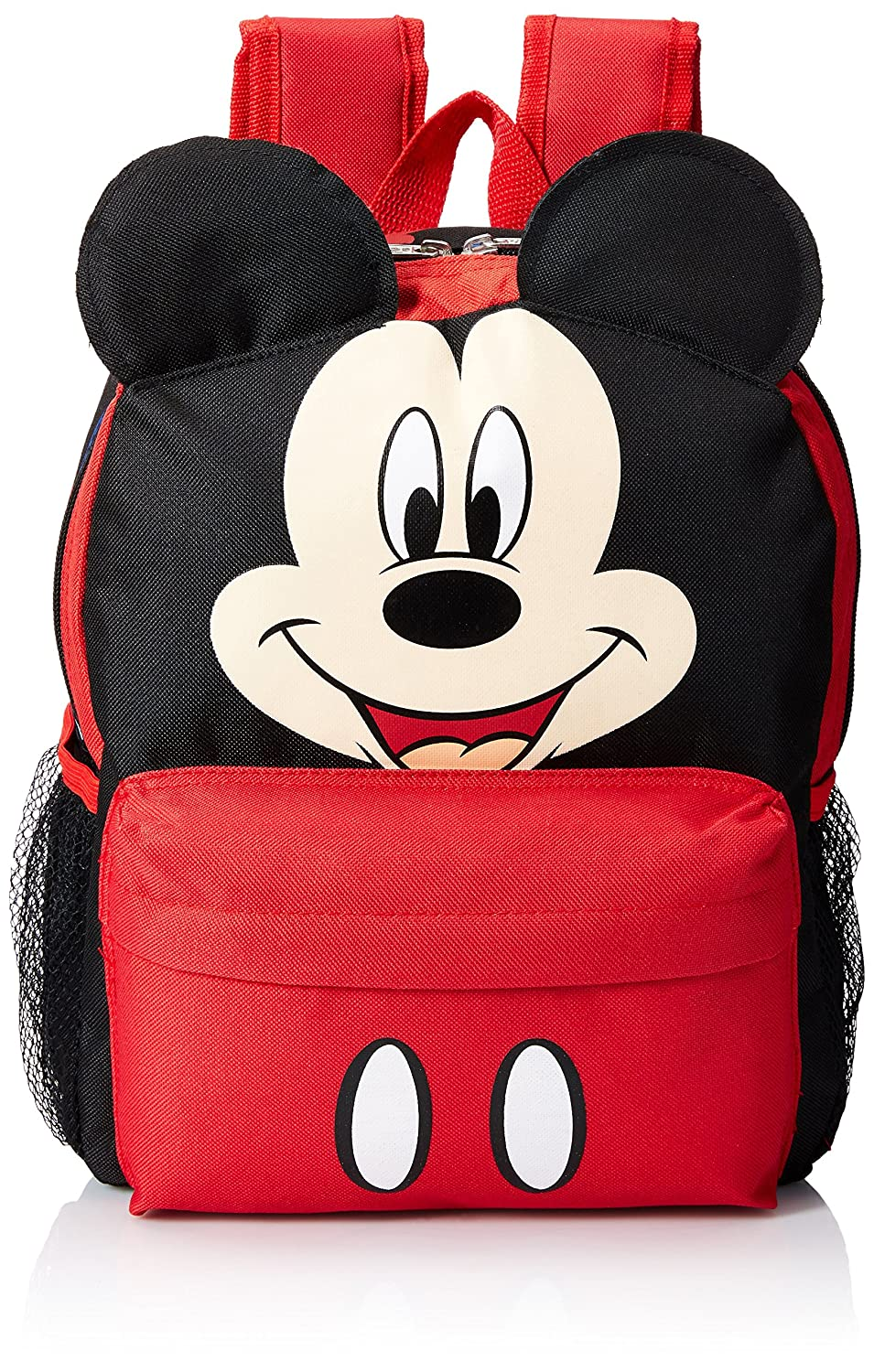 Small Backpack - Disney - Mickey Mouse Face/Ears New School Bag 628680-3 Ruz