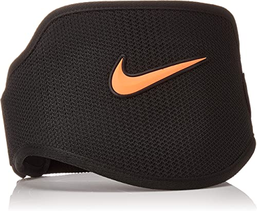 Nike Strength Training Belt, Small, Black Total Crimson