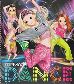Coloriage Fille Avec Modele.Album De Coloriage Topmodel Dance Special