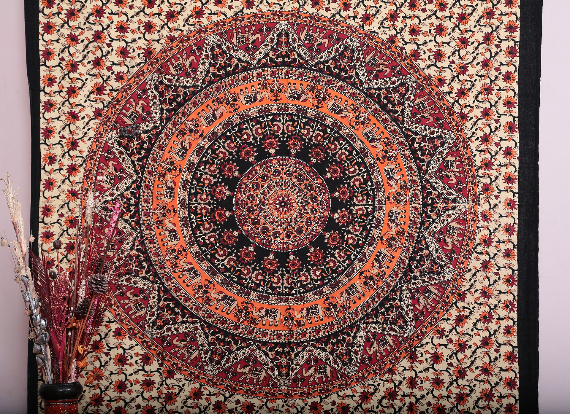 Twin Hippie Tapestry, Hippy Mandala Bohemian Tapestries ...