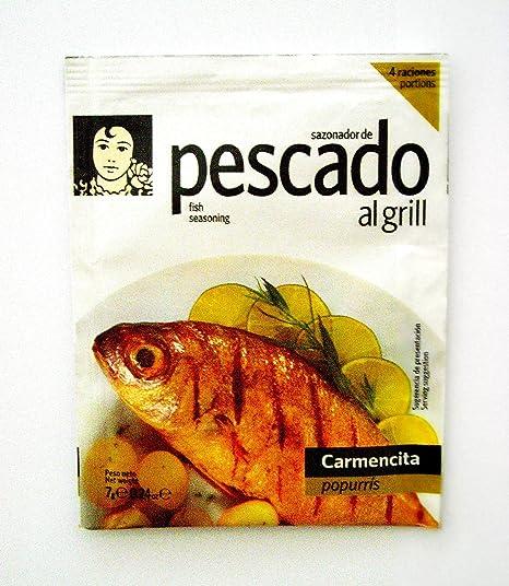 Popurrí-Sazonador De Pescado Al Grill Carmencita 7 G