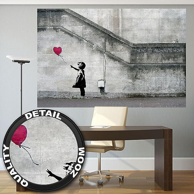 Banksy Ballon La niña del globo