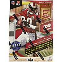 $89 » 2020 Panini Elite NFL Football BLASTER box (20 cards incl. ONE Memorabilia or Autograph card/bx)