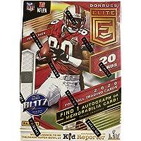2020 Panini Elite NFL Football BLASTER box (20 cards incl. ONE Memorabilia or Autograph card/bx)