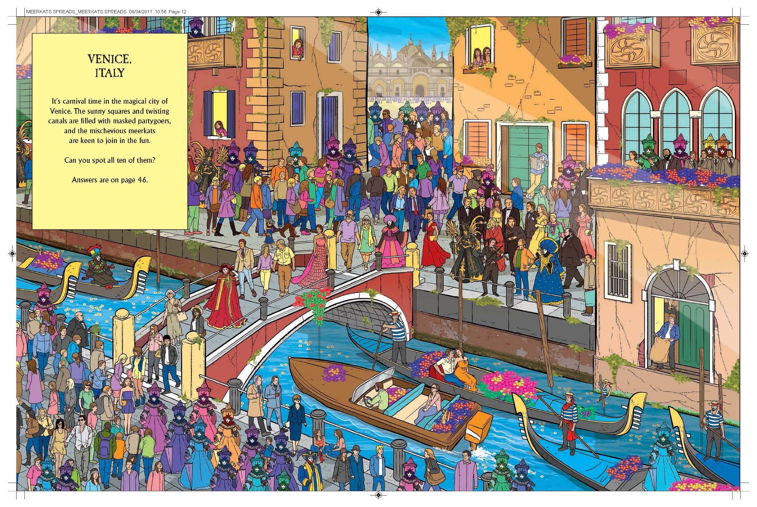 Wheres the Meerkat? Journey Through Time