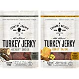 Country Archer All Natural Turkey Jerky Variety Pack of 2 No Antibiotics or Added Hormones