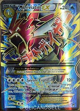 Carte Pokémon 115 122 Méga Léviator Ex 240 Pv Ultra Rare