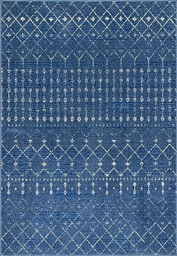 nuLOOM Moroccan Blythe Area Rug, 10 x 14 , Dark Blue