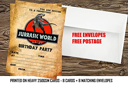 Design Buddies Boys Jurassic World Dinosaurs Birthday Party