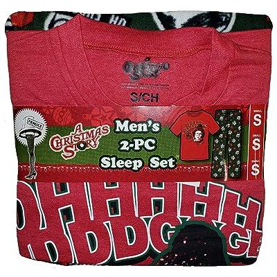 A Christmas Story 2 Piece Sleep Pajama Set at Amazon Men's Clothing store