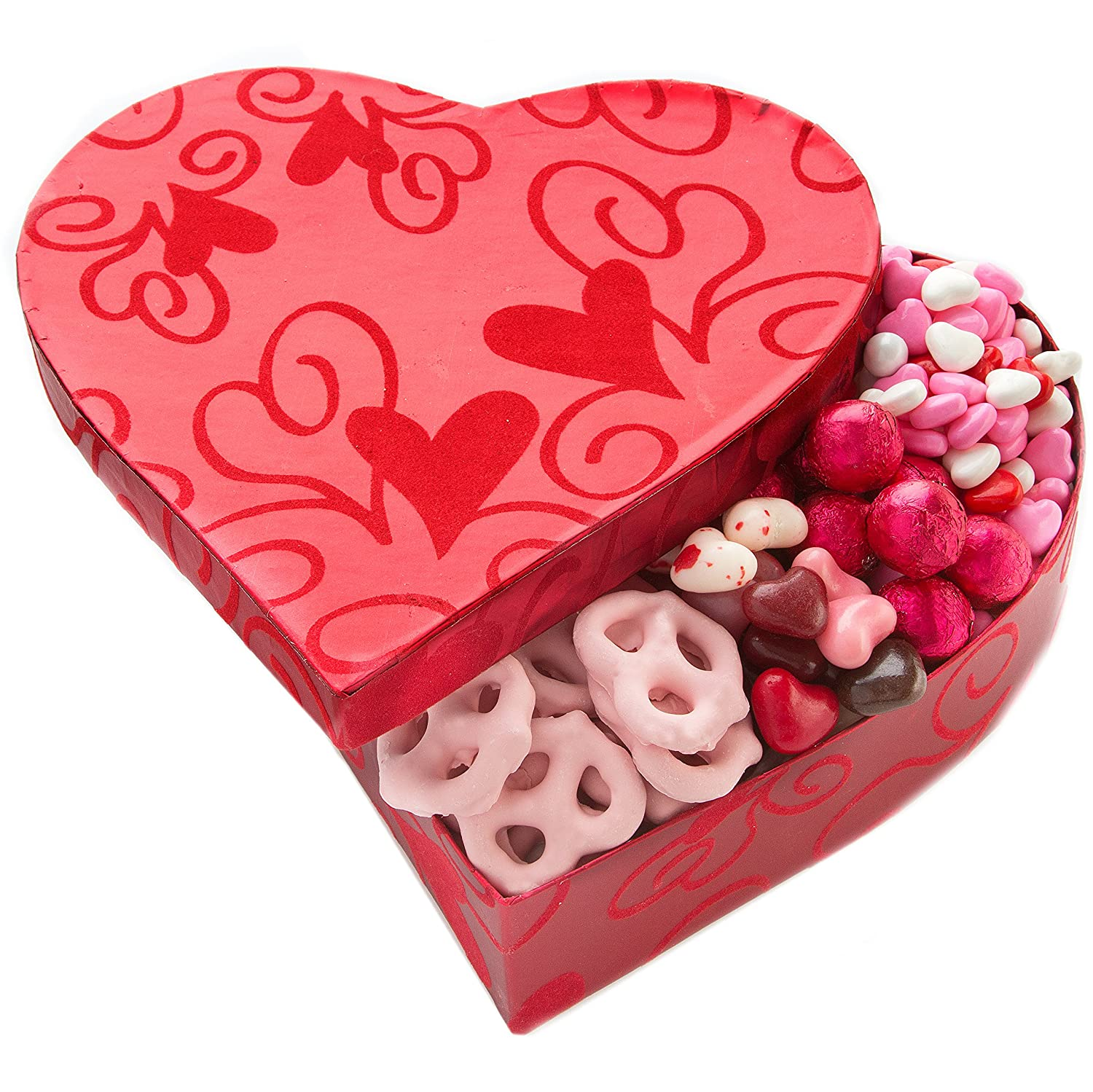 Amazon.com  Valentine Day Heart Shaped Box Valentines Day Gifts for Him or Her Filled with Valentine Day Candy - Oh! Nuts  Grocery u0026 Gourmet Food  sc 1 st  Amazon.com & Amazon.com : Valentine Day Heart Shaped Box Valentines Day Gifts ...