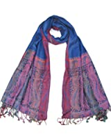 Lovarzi Women's Scarf cum Shawl Wrap and Stole - Gorgeous Paisley Shawl for Women