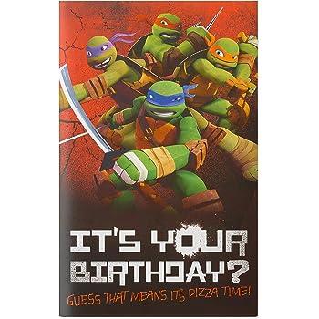 Amazon Have An Awesome Birthday Dude Teenage Mutant Ninja