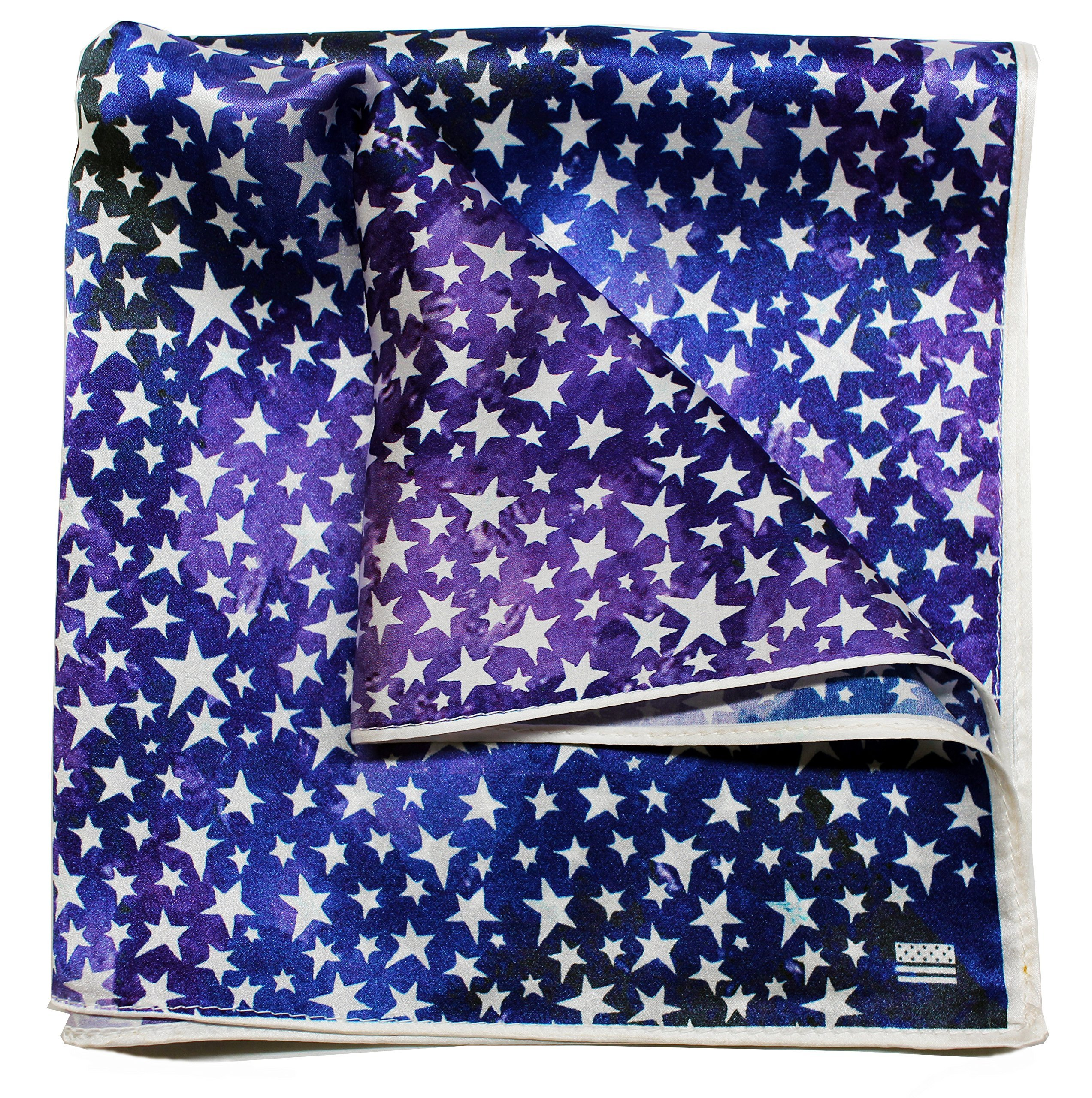 Silk Pocket Square by American Pocket Square Company | Artistic, Pure Silk, Premium Quality for Men: ''Mr. Van Gogh''