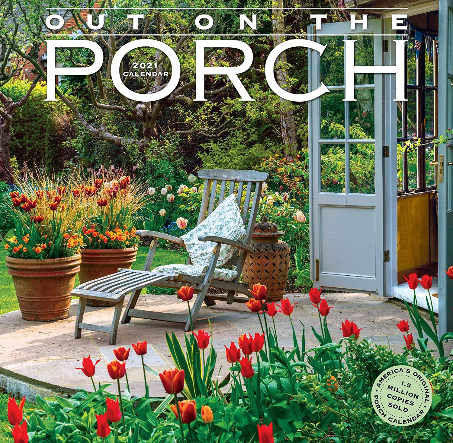 """Out on The Porch Wall Calendar 2021 [12"""" x 12"""" Inches]"""