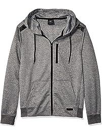 893f663d7d22 Southpole Mens Marled Tech Fleece Full Zip Hoodie Hooded Sweatshirt