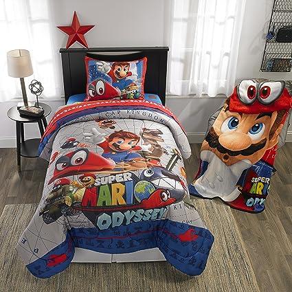 Edredon De Mario Bros.Super Mario Bros Full Comforter Sheets Bonus Sham 6 Piece Bed In A Bag Homemade Wax Melts