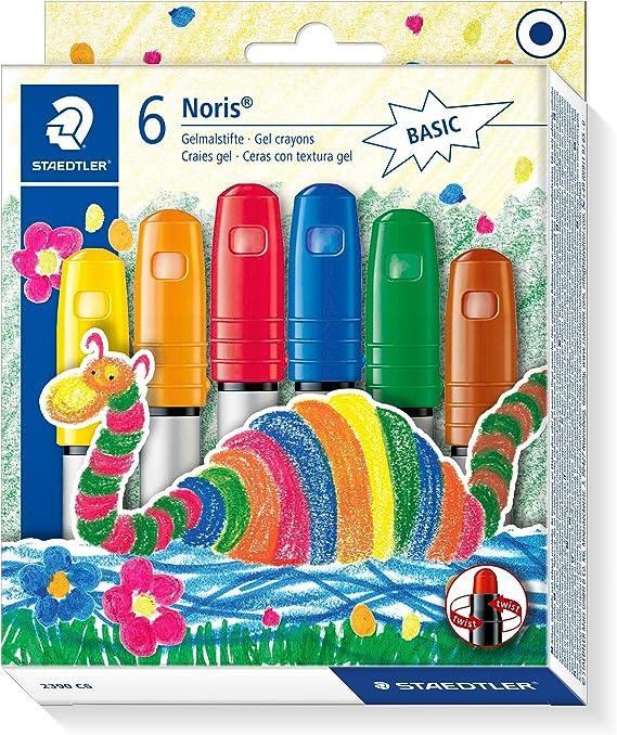 Imagen deSTAEDTLER 2390 C6 - Pack de 6 ceras, Colores básicos surtidos, Única