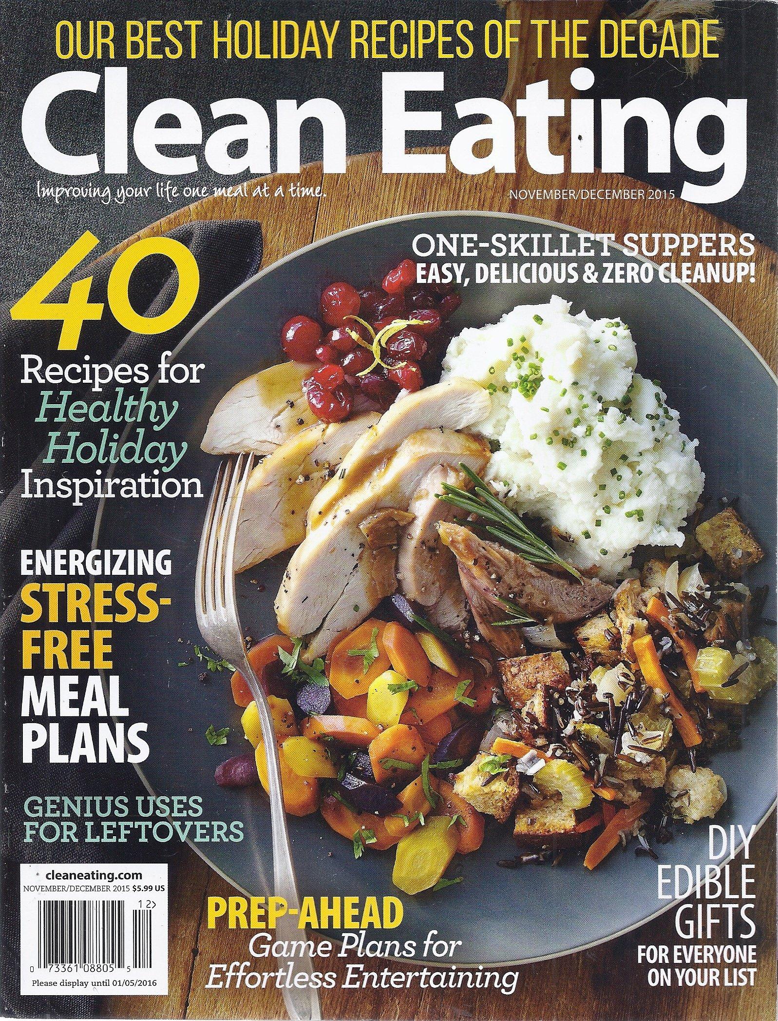 Download Clean Eating (November/December 2015 - Best Holiday Recipes) PDF