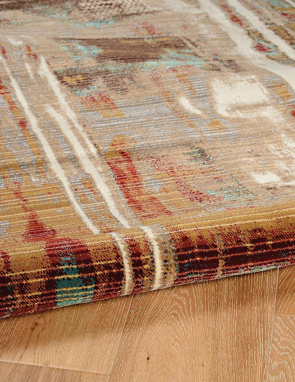 Linon Home D/écor RUGIL0235 Rug Brown