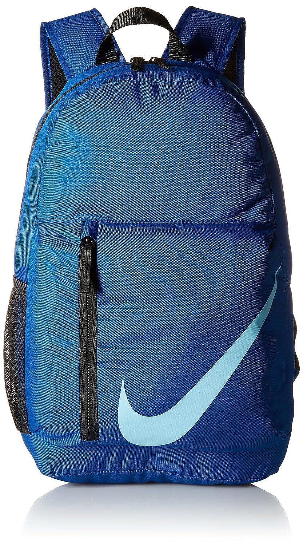 NIKE Kids' Elemental Backpack Ashen Slate/Black/Pink One Size Nike Equipment (Sporting Goods) BA5405