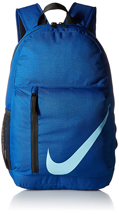 Nike Y Nk Elmntl Bkpk, Mochila Unisex Infantil, Multicolor (Gym Black/Blue