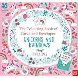 National Trust: The Colouring Book of Cards and Envelopes - Unicorns and Rainbows (Colouring Books of Cards and Envelopes)