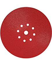 S&R 10 Discos de Lija en Papel Abrasivo con Velcro Ø 225 mm / Grano 180