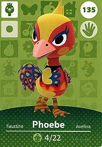 Nintendo Animal Crossing Happy Home Designer Amiibo Card Phoebe 135/200 USA Version
