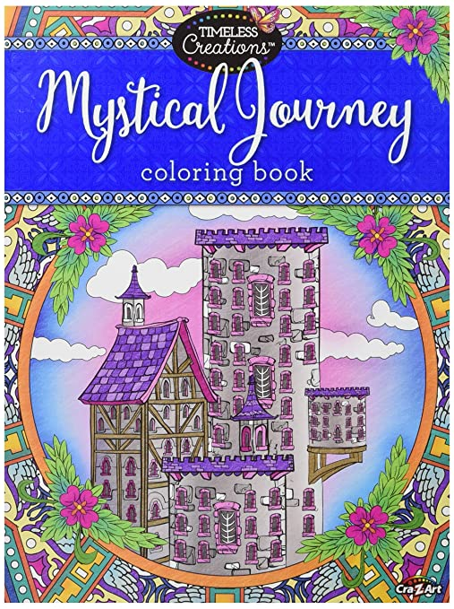 Amazon Cra Z Art Timeless Creations Adult Coloring Books