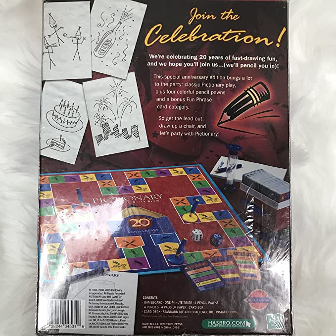 Amazon Pictionary 20th Anniversary Edition Toys Games