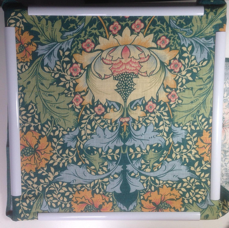 pintura de seda punto de cruz etc. 30 x 30 cm marco para el bordado patchwork acolchar