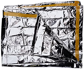 VAUDE Biwak LW - Saco de vivac Color Silver, Talla One Size: Amazon.es: Deportes y aire libre