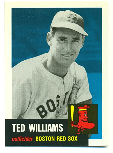 1991 Topps Archives 1953 Ted Williams 319 Boston Red Sox At