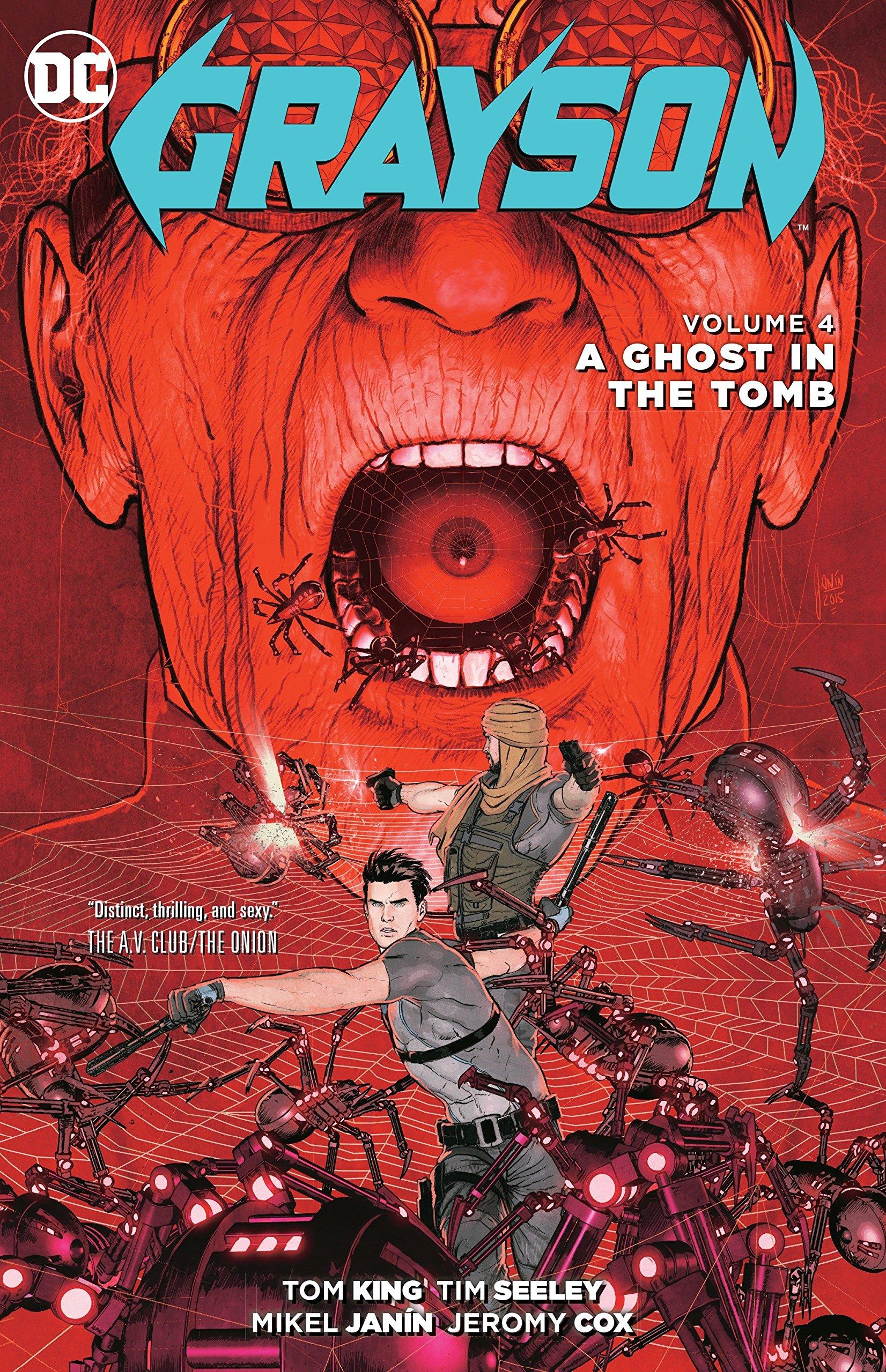 Grayson Vol. 4: A Ghost in the Tomb pdf