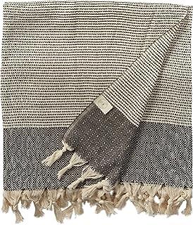 Bersuse 100% Algodón - Hierapolis XL Toalla turca de manta - Cama multiusos o colchón