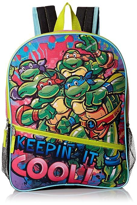 Clothing, Shoes & Accessories New Teenage Mutant Ninja Turtles Boys Green Backpack Rucksack Travel School Bag High Quality Materials