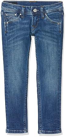 e7879085624 Pepe Jeans CASHED Jeans Garçon Bleu (Medium Used Denim Gl6) (Taille  Fabricant