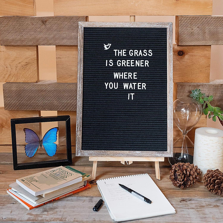 Wall Banner Framed Art | Rustic Wood Message Board