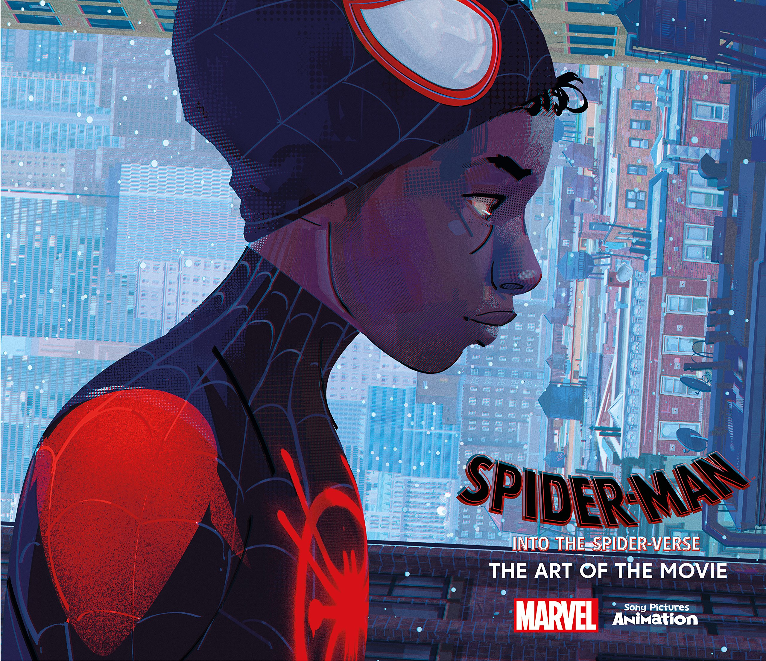 Amazon Com Spider Man Into The Spider Verse The Art Of The Movie