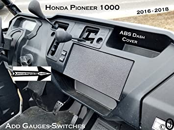 honda pioneer 1000 stereo mounting bracket 010
