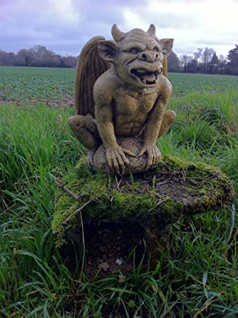 Outdoor Resin Garden Demon Ornament Gargoyle Statue